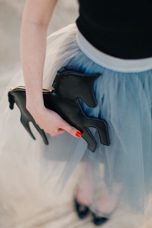 bolsa unicórnio preta - Salir de lo obvio con bolsos diferentes y divertidos