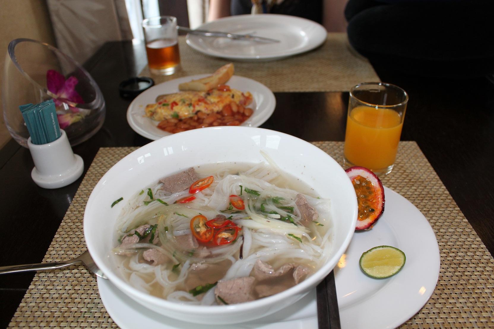 cafe da manhã no vietna