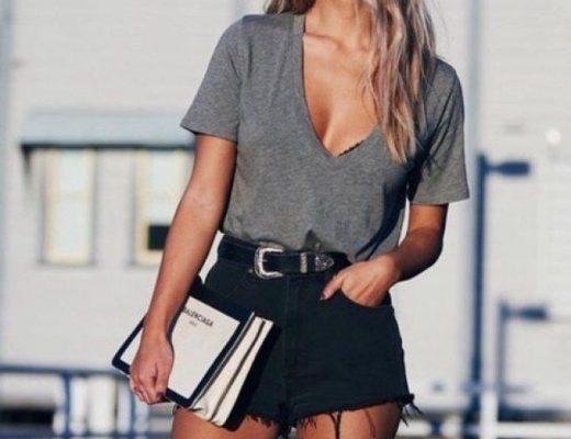 como ser estilosa com roupas simples