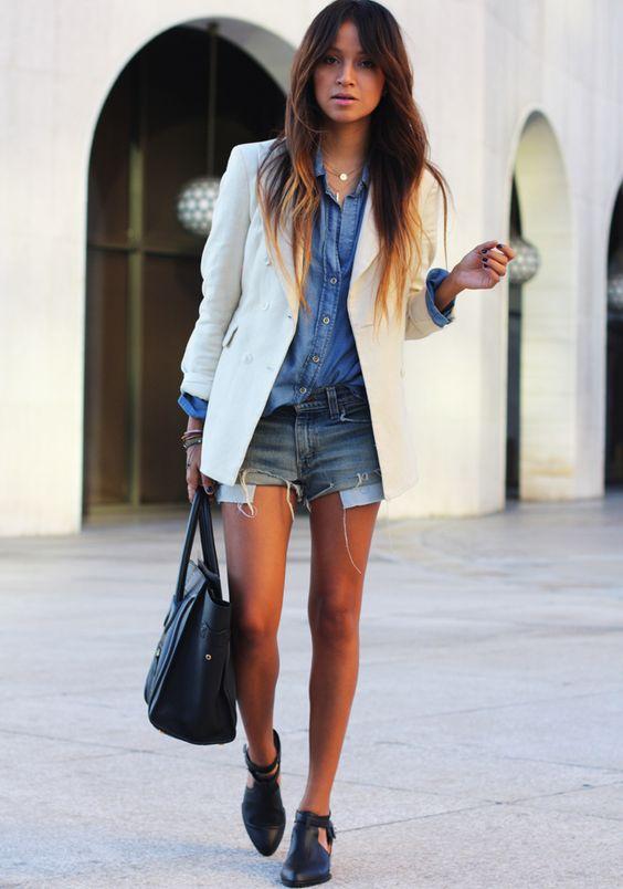 como usar blazer branco looks de inspiração 12