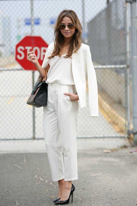 como usar blazer branco looks de inspiração 13