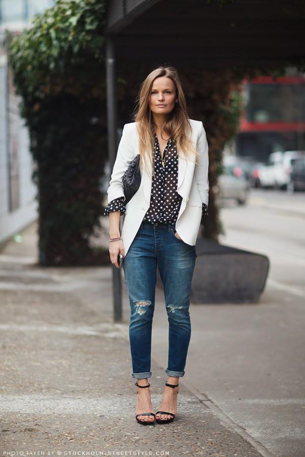 como usar blazer branco looks de inspiração 14