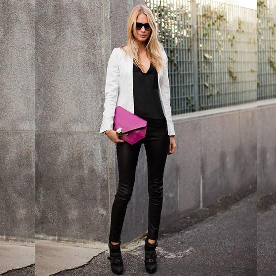 como usar blazer branco looks de inspiração 16