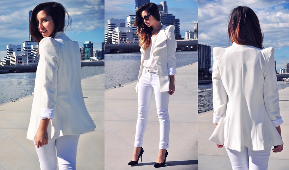 como usar blazer branco looks de inspiração 19
