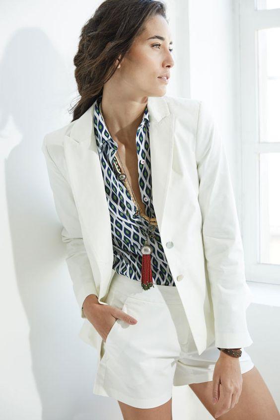 como usar blazer branco looks de inspiração 4