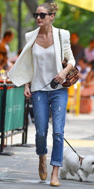 como usar blazer branco looks de inspiração 5