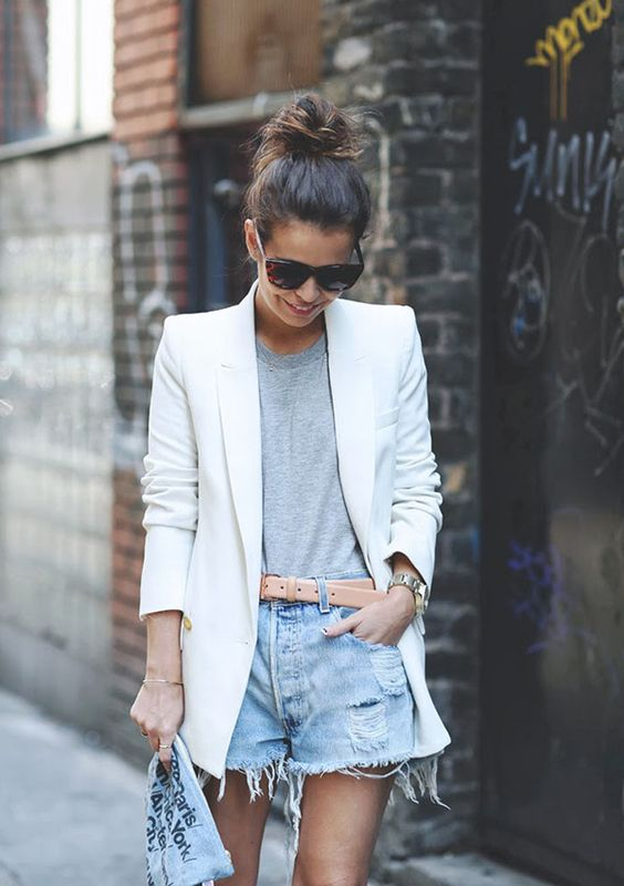 como usar blazer branco looks de inspiração 6