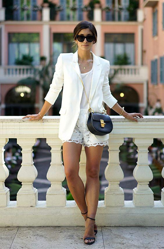 como usar blazer branco looks de inspiração 7