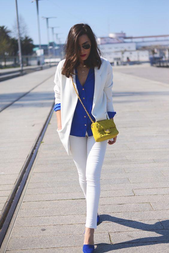 como usar blazer branco looks de inspiração 9