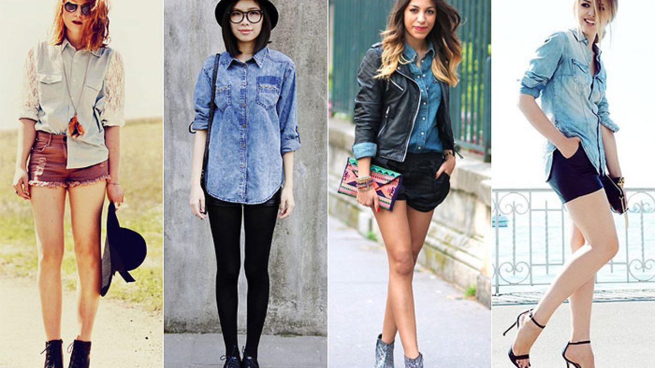 e7513521e Como usar camisa jeans no dia a dia   We Fashion Trends