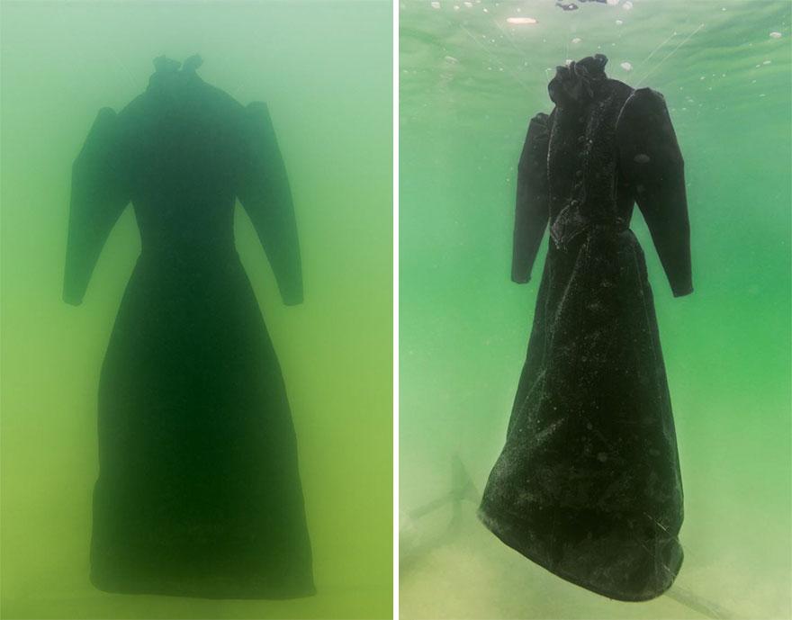 homem deixa vestido por 2 anos no mar morto