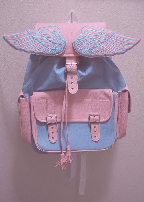 mochila com asas