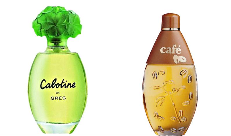perfume cabotine e cafe