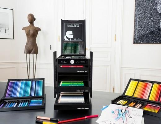 Kit de Karl Lagerfeld com a Faber-Castell