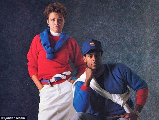 coleção de roupas da Apple em 1980 1
