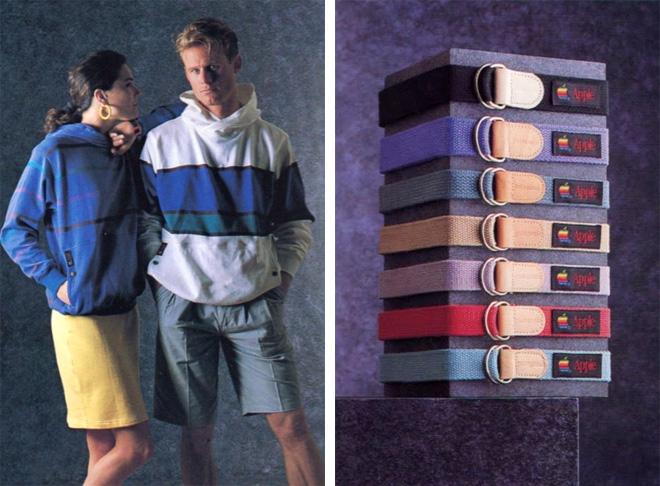 coleção de roupas da Apple em 1980 3