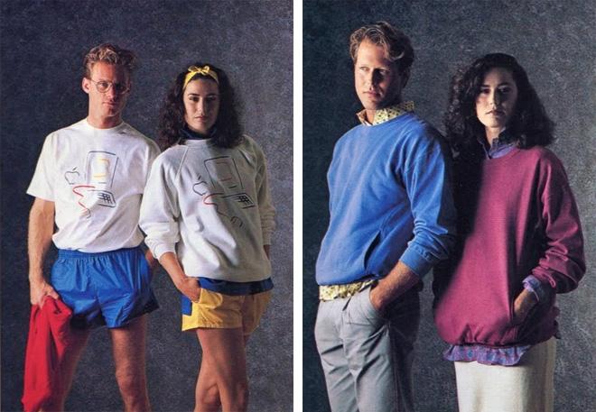 coleção de roupas da Apple em 1980 4
