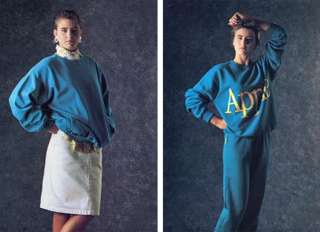coleção de roupas da Apple em 1980 5