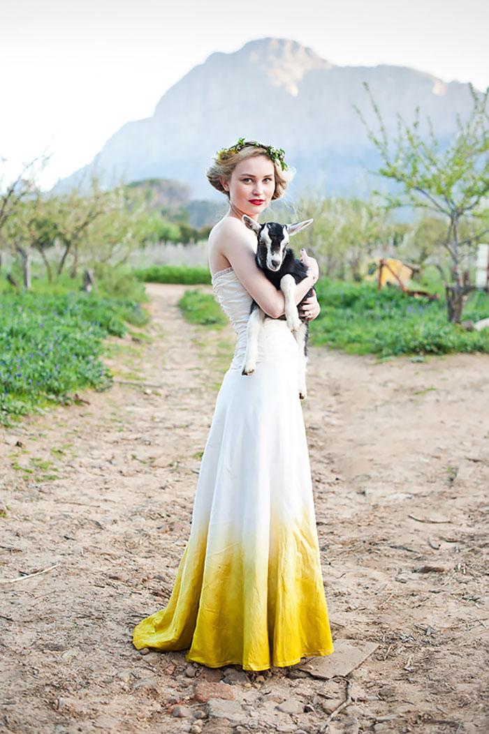 vestido de casamento diferente