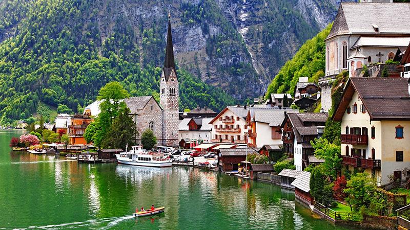 Hallstatt-Áustria