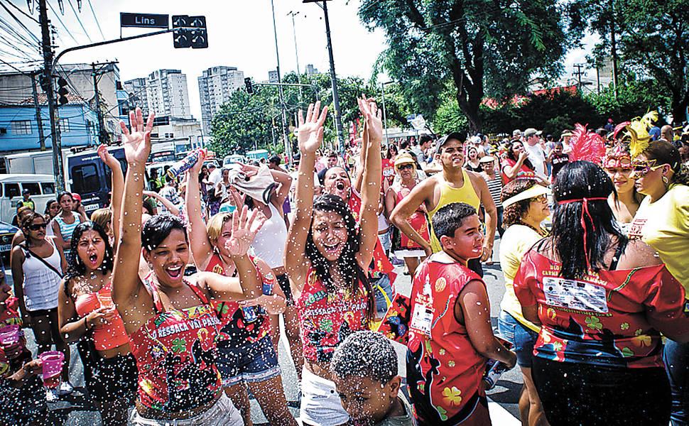 carnaval bloco de rua 2017 em são paulo