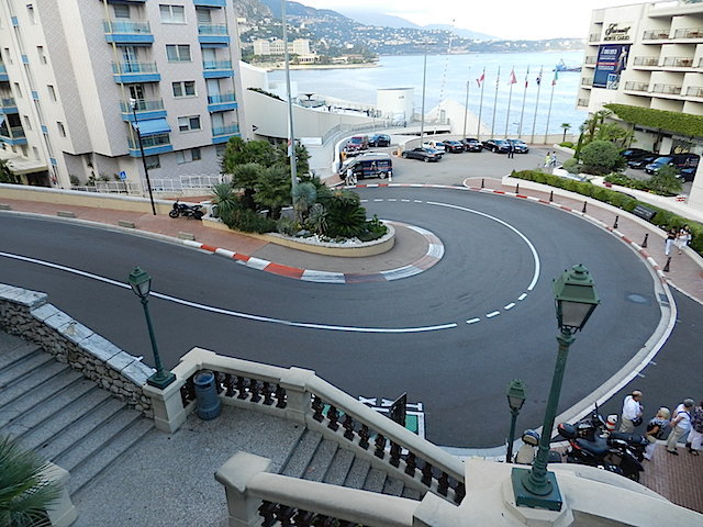 curva da Fórmula 1