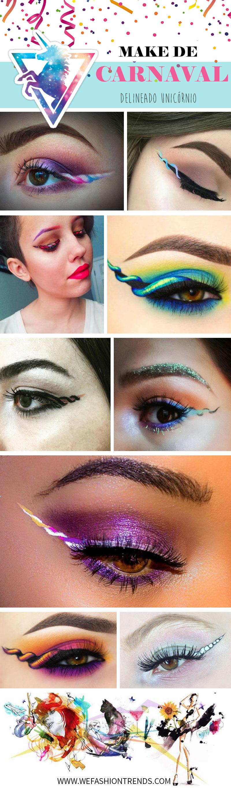 maquiagem-para-o-carnaval-2017-delineado-de-unicórnio