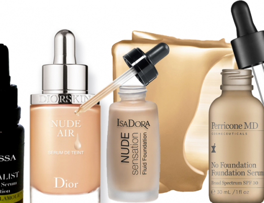 oleo facial com cor serum foundations