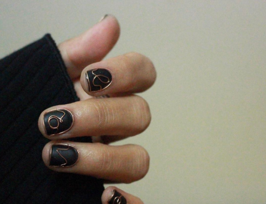 wirework nails unhas com arame