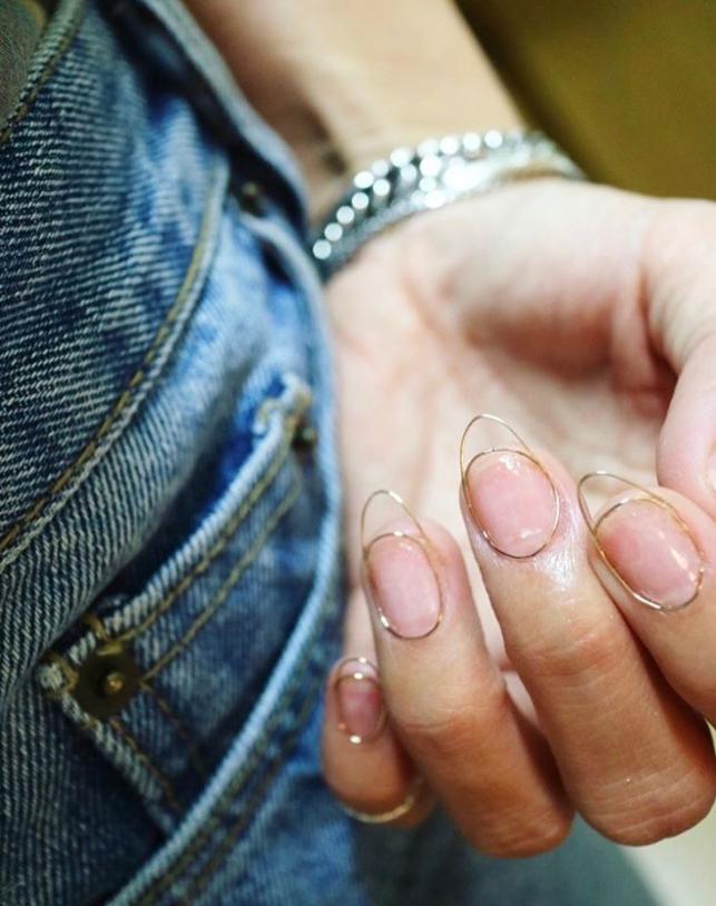 wirework nails unhas tendência
