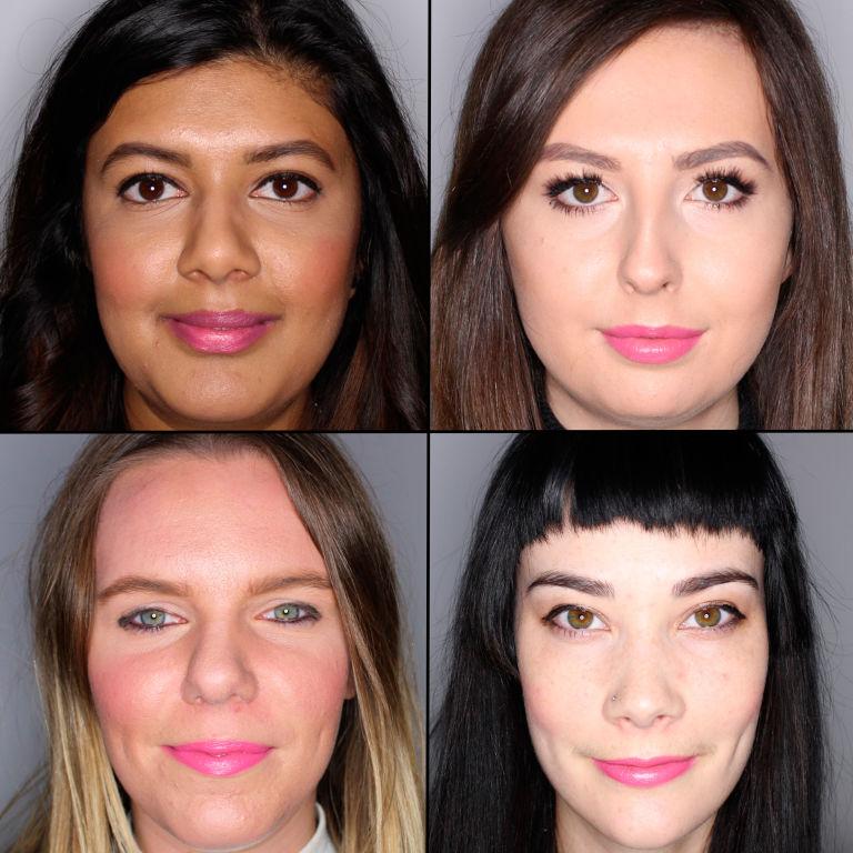 batom pink em 100 mulheres diferentes 14