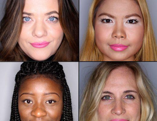 batom pink em 100 mulheres diferentes 15