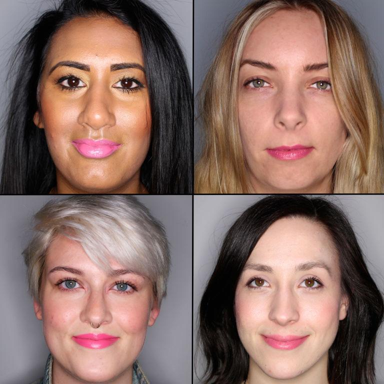 batom pink em 100 mulheres diferentes 25