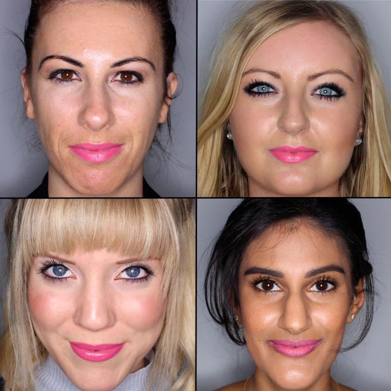 batom pink em 100 mulheres diferentes 8