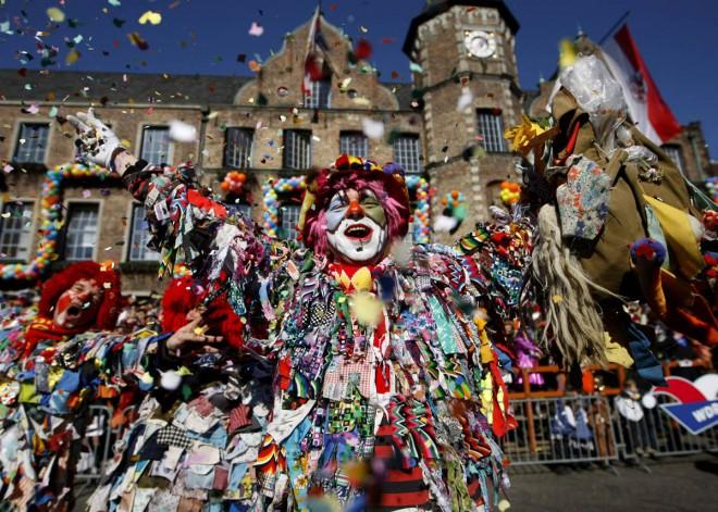 carnaval em colônia na alemanha