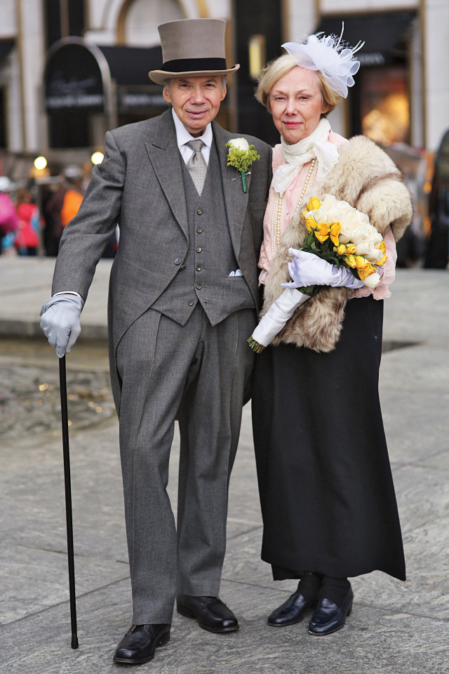 casais de idosos fashionistas 2