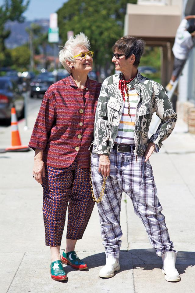 casais de idosos fashionistas 5