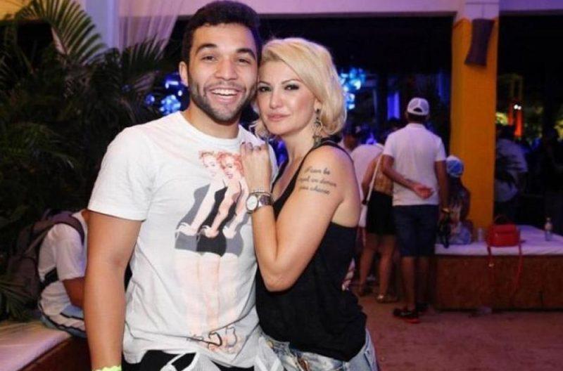 Antonia Fontenelle e Jonathan Costa