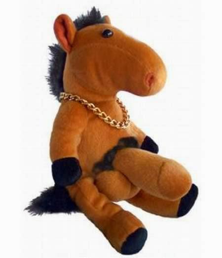 "Cavalo bizarro de ""5 patas"""