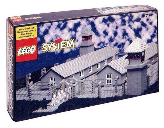 Lego versão campo de concentração