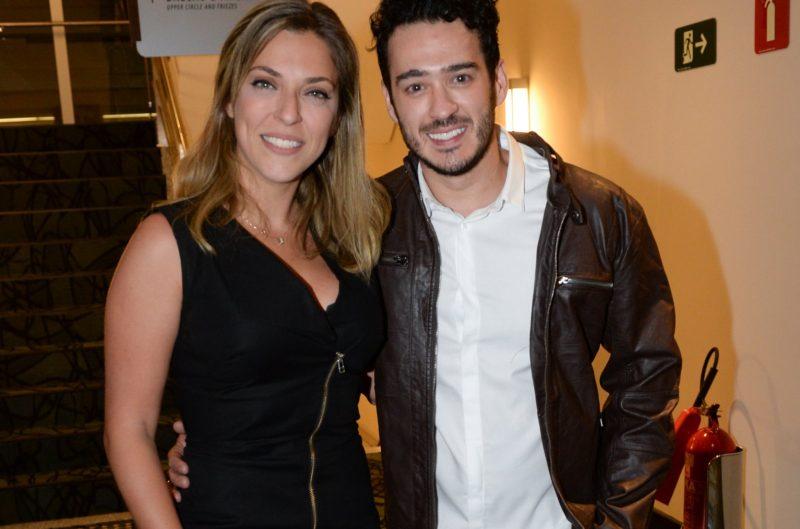 Marcos Veras e Julia Rabello