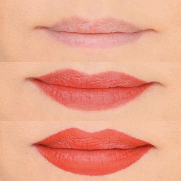 aumentar os lábios com batom