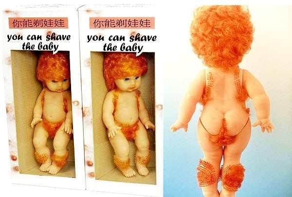 bebe que pode ser depilado