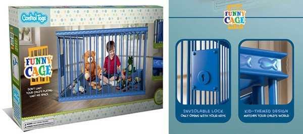 brinquedo jaula para crianças