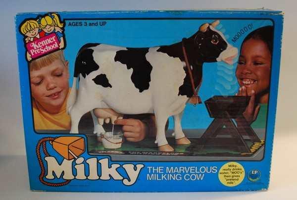 brinquedo ordenhar vaca