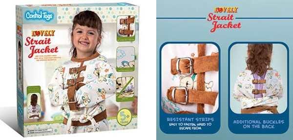 camisa de força para criança