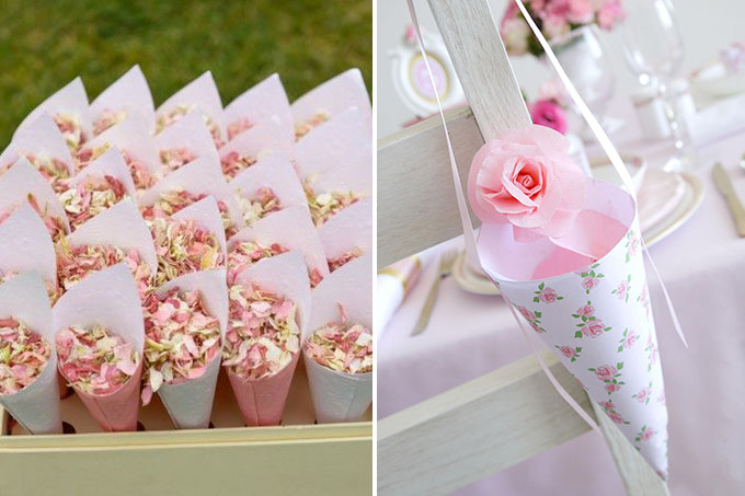 casamento-chuva-petalas de rosas