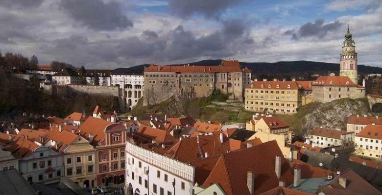 castelo de Český Krumlov Holašovice