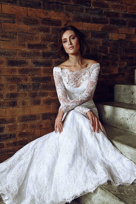 vestido noiva decote ombro a ombro 10