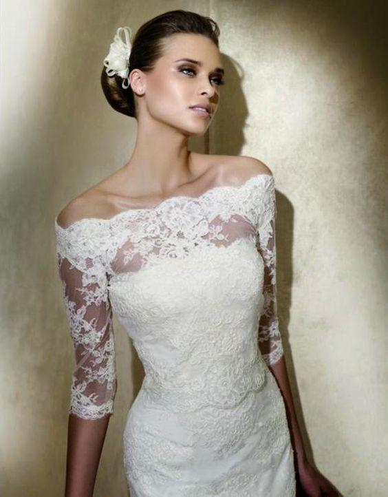 vestido noiva decote ombro a ombro 3